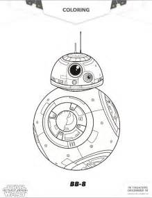 Star Wars BB8 Coloring Pages The Force Awakens Free sketch template