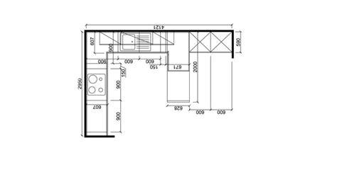 plan implantation cuisine d 233 coration de maison contemporaine