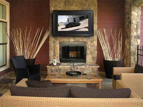 design ideas tv over fireplace stone fireplace designs the ultimate in style and beauty