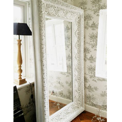 ornate floor mirror bedroom decor white trends also mirrors for picture large