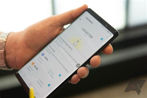 the note9 s new bluetooth s pen has a clever solution to
