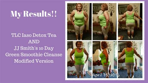 Jj Smith 10 Day Detox by Vlog 4 Weight Loss With Iaso Detox Tea Jj Smith S 10