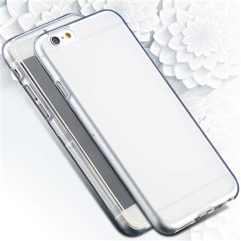 Deal Thin Clear Soft Tpu Rubber Cover Iphone 6 6s Plus Bunga clear for iphone 6 plus 6s plus color soft tpu rubber ultra flip cover for iphone 6