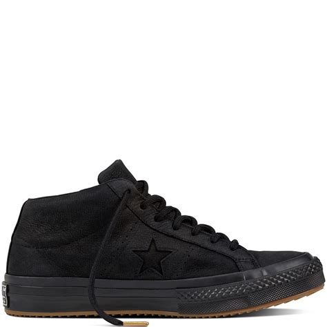 Sepatu Converse Counter Climate converse one mid counter climate black black black