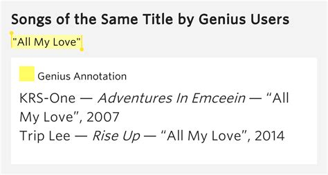 my lyrics meaning quot all my quot songs of the same title lyrics meaning