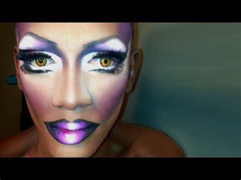tutorial makeup queen go to drag queen eye makeup matte ombre lip tutorial
