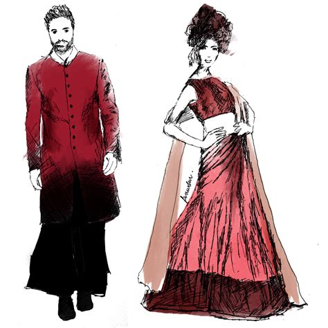 fashion illustration in india illustrations favourite looks lakme fashion week winter