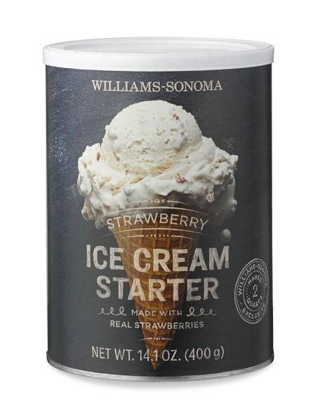 Where To Buy Williams Sonoma Gift Cards - williams sonoma ice cream starter strawberry williams sonoma