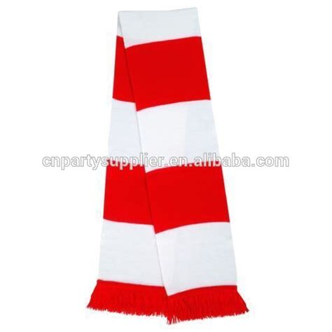 custom football fans scarf footall scarf buy knitted