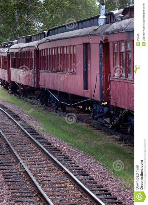 carrozze ferroviarie vecchie carrozze ferroviarie fotografia stock immagine
