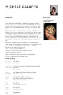 Hairdresser Resume Exles by Hair Stylist Resume Sles Visualcv Resume Sles Database
