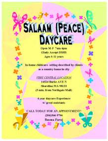 printable daycare flyer ideas images frompo