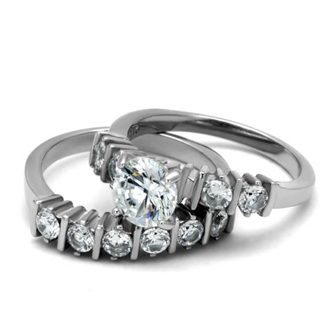 cje2869 wholesale stainless steel aaa grade cz ring