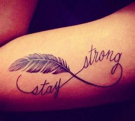 stay strong infinity tattoo 8 wonderful stay strong ideas