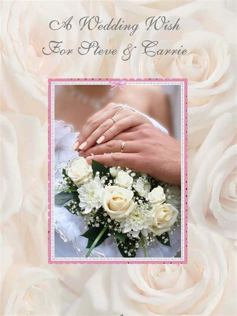 Wedding Gift Greetings by Wedding Wishes For Greeting Cards Wedding O