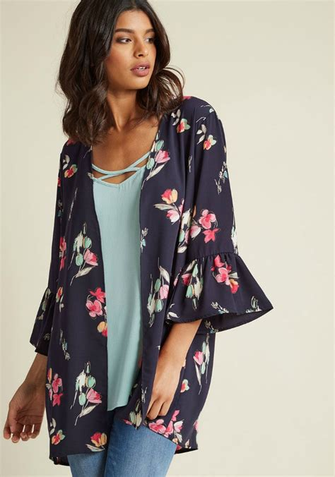brina floral kimono navy the 11 best kimono tops and jackets the eleven best