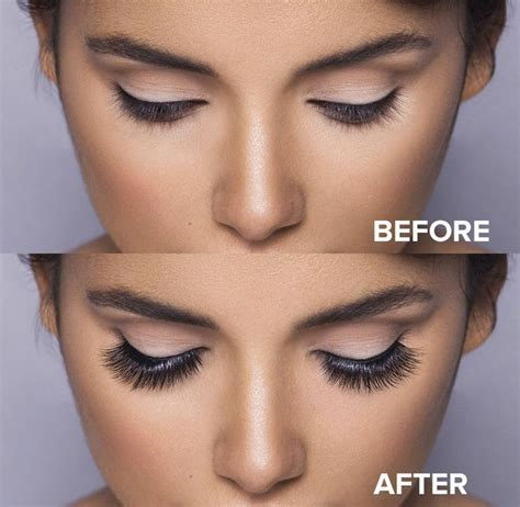Dramatic Lotus Mink lashes! Incredible before and after