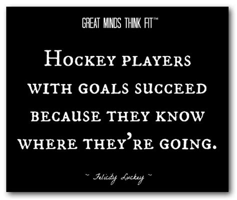 Hockey Posters with Motivational Quotes