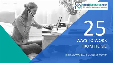 25 ways to work from home