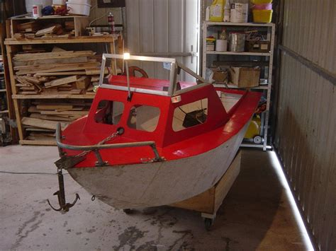mini boat homemade mini cabin cruser creative ideas elkins diy