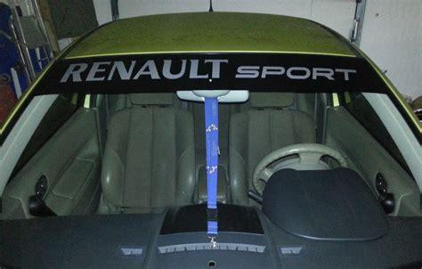 Frontscheiben Aufkleber Anbringen by Renault Sport Rs Blendstreifen Frontscheibe Aufkleber