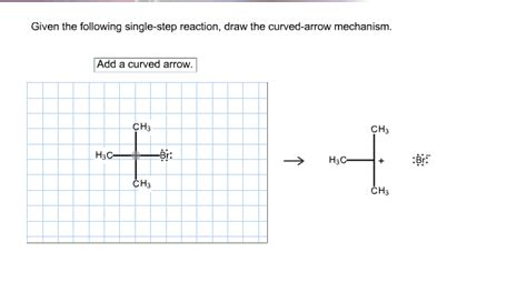 doodle how to make mechanism given the following single step reaction draw the