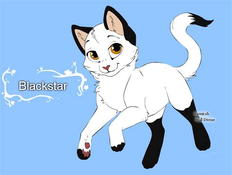 cat characters warrior cats character design templates blackstar by warriorcatscrazy on deviantart