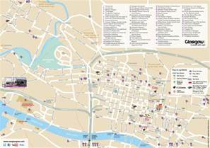 map city centre glasgow centre map carmunnock community council