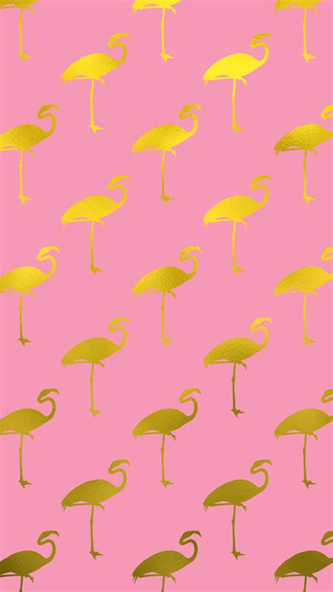 flamingo wallpaper iphone 5 gold flamingo iphone wallpaper background pinterest