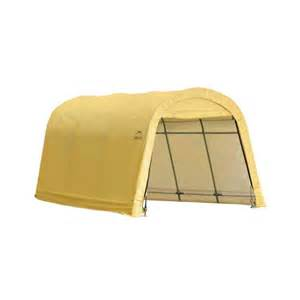 Car Covers Home Depot Shelterlogic 10 X 15 X 8 Auto Shelter Style