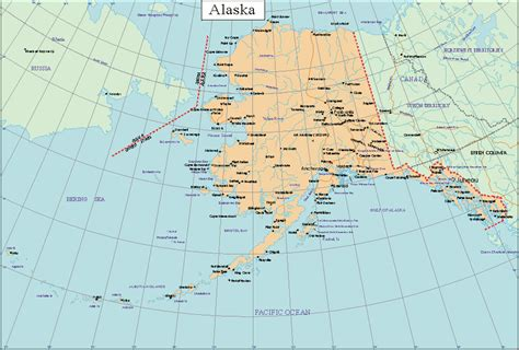 us map alaska state alaska facts and symbols us state facts