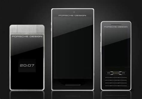 porsche design smartphone captures 3d images | concept phones