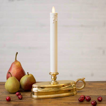luminara christmas tree strand candles 2 pcs lights luminara window candle battery operated timer moving brass
