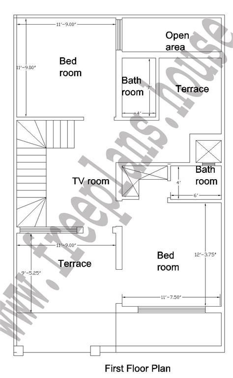 25 x 25 house plans 25 215 40 feet 92 square meter house plan