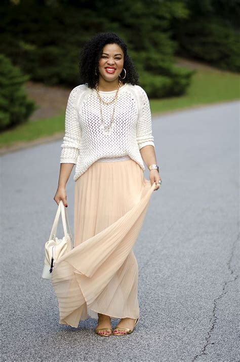 tops to wear with maxi skirts that make you cutely sweet