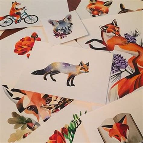unisex tattoo designs unisex fox designs ink fox