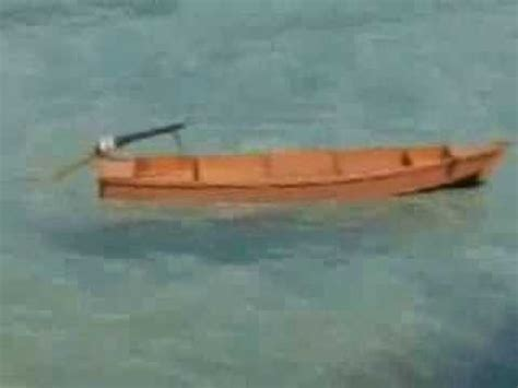 a rc japanese style row boat youtube - Row Your Boat Japanese