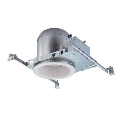 home depot canister lights commercial electric 6 in white recessed lighting housings