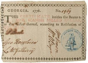 Uga Early Essay by The Story Of Money 10 Colonies Issue Own Paper Money Federal Reserve Bank Of Atlanta