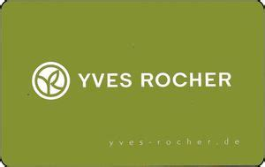 Yves Rocher Gift Card - functional card yves rocher shops cosmetics and perfumery germany federal
