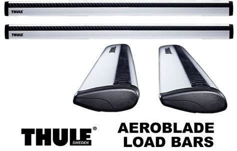 Thule Aeroblade Roof Rack Bars by Thule Aeroblade Load Bars Arb43 Arb47 Arb53 Or Arb60