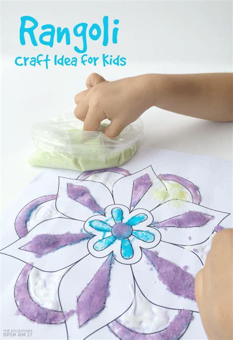 rangoli craft for rangoli craft idea for