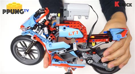 Motorrad Aus Lego Bauen by Lego Technic 42036 Rc Mod Video Instructions Street