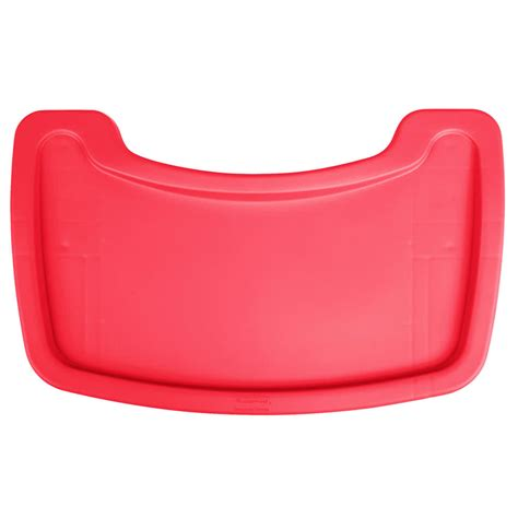 Tray For Chair rubbermaid fg781588red restaurant high chair tray