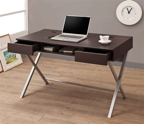 coaster company cappuccino writing desk coaster 800117 connect it desk cappuccino 800117 at