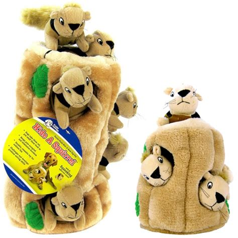 puppy toys plush puppies plush puppies hide a squirrel plush toys