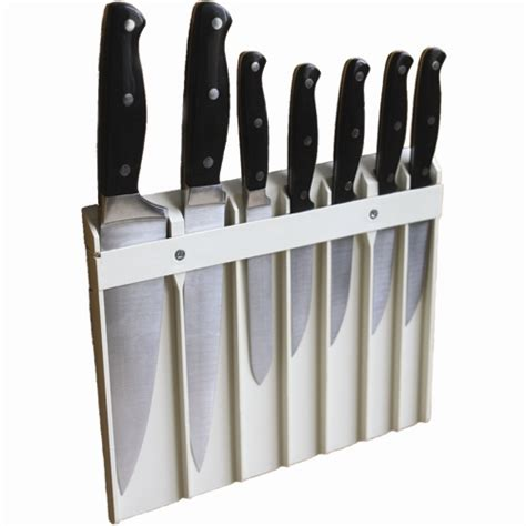Kitchen Knives Holder by Wall Mounted Knife Holder In Kitchen Utensil Holders