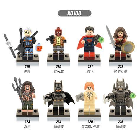 Lego Superheroes Minifigures Deathstroke lego batman minifigures compra lotes baratos de lego