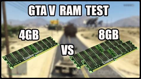 Memory 4gb V Gta V Ram Test 4gb Ddr3 1333mhz Vs 8gb Ddr3 1333mhz