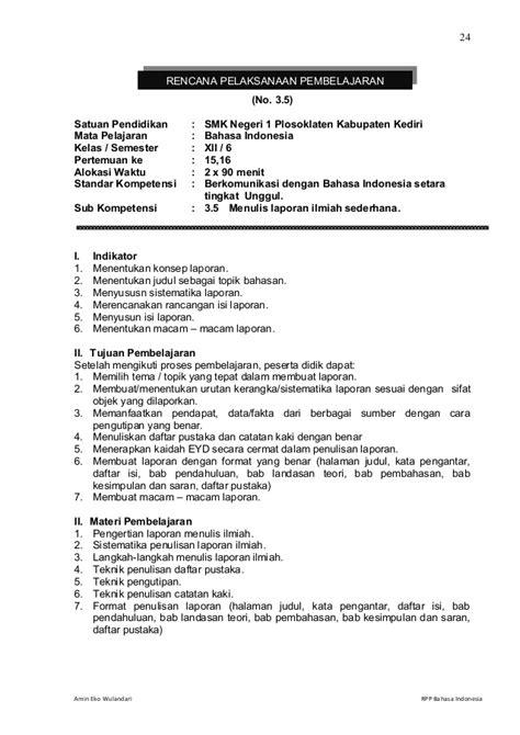 rpp menyusun laporan keuangan smk rpp berkarakter bahasa indonesia smk kelas xii